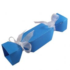 Ocean Blue Cracker Designer Favour Boxes